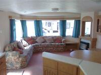 Static caravan, 28 x 12 ft / 2 bedrooms, Atlas Everglade - only £2,995!