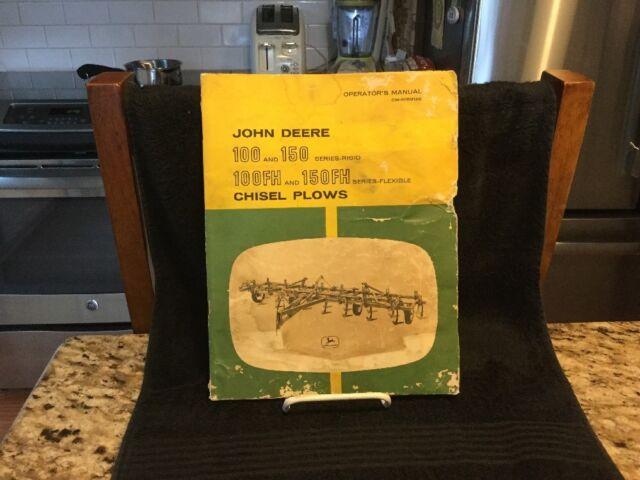 Vintage John Deere 100 & 150 Series Chisel Plo