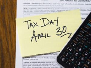 Less Than 2 Weeks Left to File Your 2017 Income Tax Return!