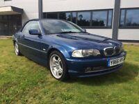 BMW 3 SERIES 330CI (blue) 2001