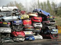 Scrap cars wanted £60_£160 paid tel 07388508906