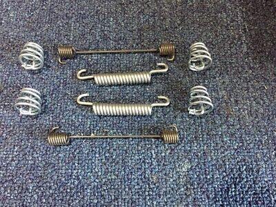 Rear Brake Shoe SPRINGS SET for Morris Minor 1000 1098cc 1962-71 sbay30-a3
