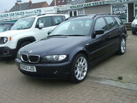 BMW 3 SERIES 320D SE TOURING (blue) 2003