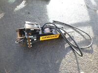 2015 Miller 3 Ton Breaker to suit Mini digger