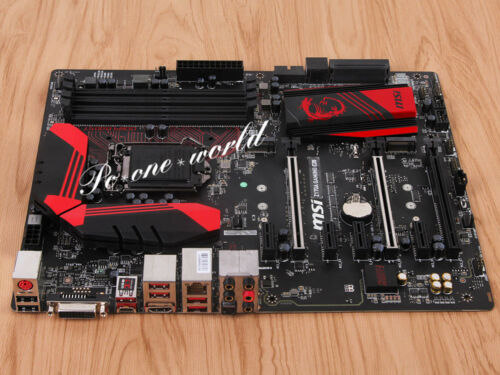 MSI Desktop Motherboard Intel Z170 Chipset Socket H4 LGA-1151 Multi Z170A GAMING M5