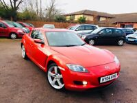 Mazda rx8 with full history mint runner nationwide delivery 1395