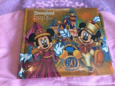 Disneyland Resort 50th Anniversary Photo & Autograph Album Brand - 50th Anniversary Photo Album