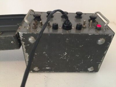 Vintage Military Signal Generator Pulled From Working Environment