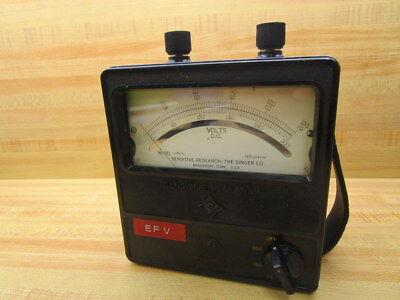 Sensitive Research U24496 Volt Meter