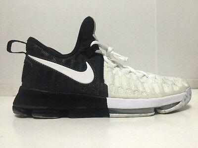 a90c76ce8b6f2 Nike Zoom KD 9 BHM Black History Month Triple Black White 860637-100 Mens  Sz 11