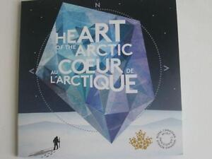 HEART OF THE ARCTIC COLLECTOR CARD WITH COINS
