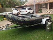 12' Palagic Extreme Inflatable Boat with 15HP Evinrude OB Urangan Fraser Coast Preview
