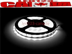 16.4ft/5M 5630 300LEDs WATERPROOF FLEXIBLE STRIP LIGHTS DIY
