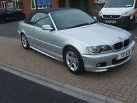 BMW 3 SERIES 318CI M SPORT COVERTIBLE (silver) 2006