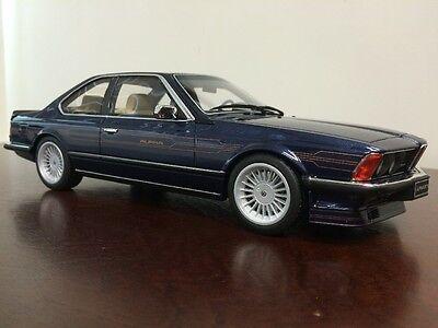 LAST ONE! New 1/18 Otto Mobile BMW Alpina E24 B7 Bi-Turbo Blue 635 CSi M6 M3