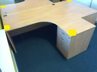 office corner desk 1600mm x 1200mm