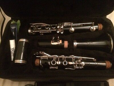 Buffet B12 Bb Clarinet In Great Condition, With Case, Mouthpiece & Ligature