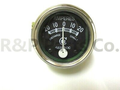 Amp Gauge Meter For Farmall Cih International Abchm Early 1939 -1946 42383dc
