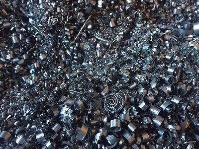 Stainless Steel Metal Shavings Filings Shredded Scrap Chips Orgone 2 Pounds