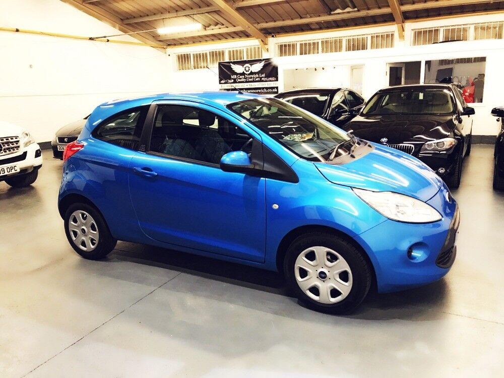 Ford Ka Style Plus Blue