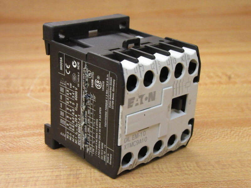 Cutler Hammer DIL-EM-10 Eaton Contactor DILEM10