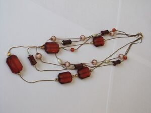 Beautiful necklace in neutral colours Kitchener / Waterloo Kitchener Area image 2