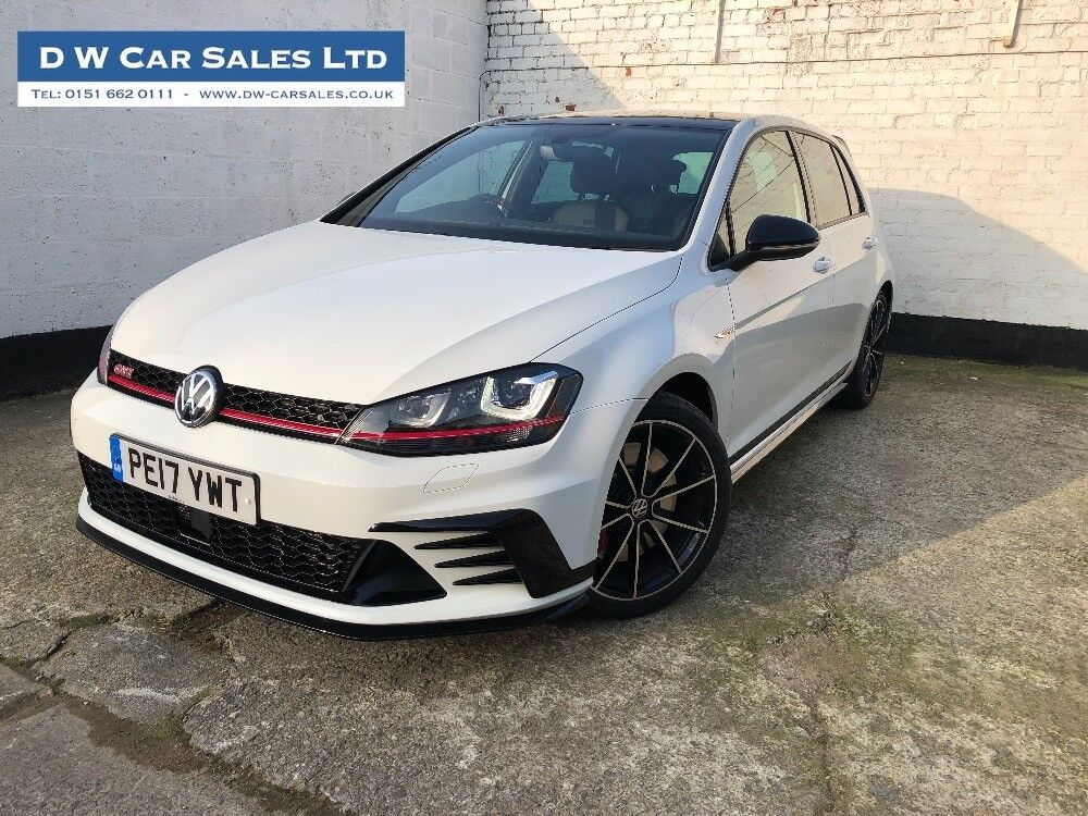 Volkswagen Golf Gti Clubsport Edition 40 5 Door Dsg White