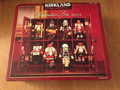 Kirkland Signature Nutcracker Box Set Of 8 In Wooden Decorative Case