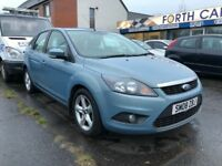 FORD FOCUS ZETEC (blue) 2008 Car Sales / Finance NO DEPOSIT REQUIRED Cheap Cars Swaps available