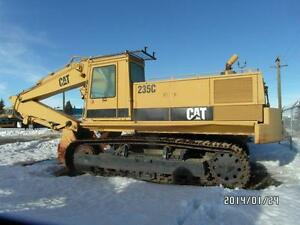 "235C CAT HOE WITH 36"" CUTTING BUCKET AT www.knullent.com Edmonton Area image 7"