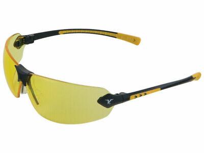 Encon Veratti 429 Safetysun Glasses With Amber Lens Yellow Frame Ansi Z87.1