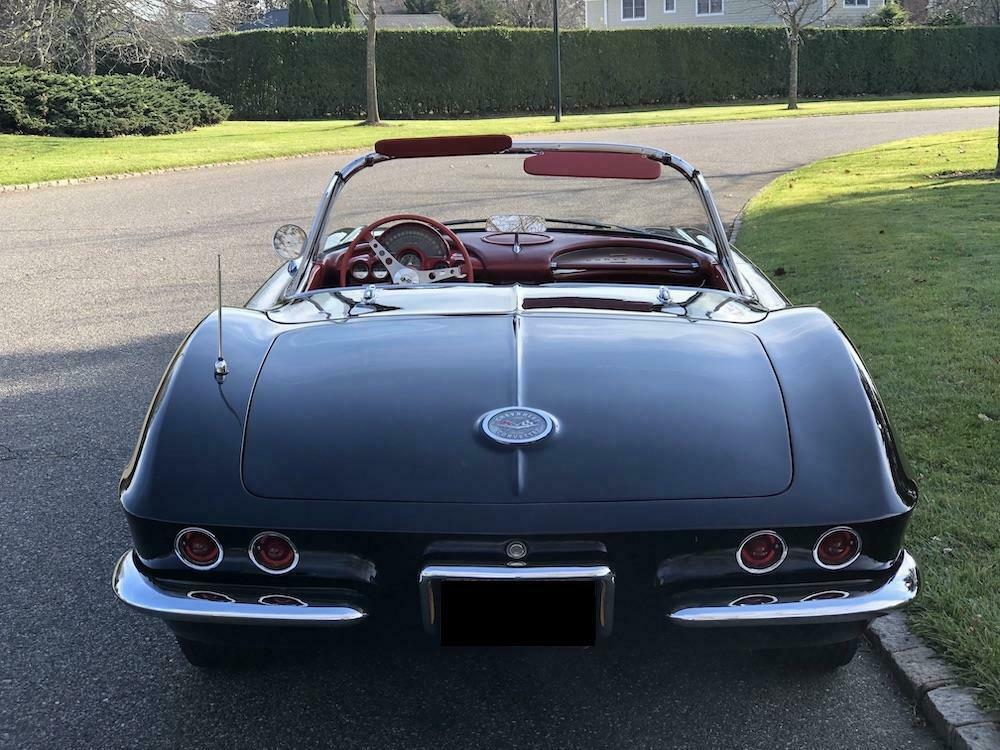 1962 Black Chevrolet Corvette   | C1 Corvette Photo 7
