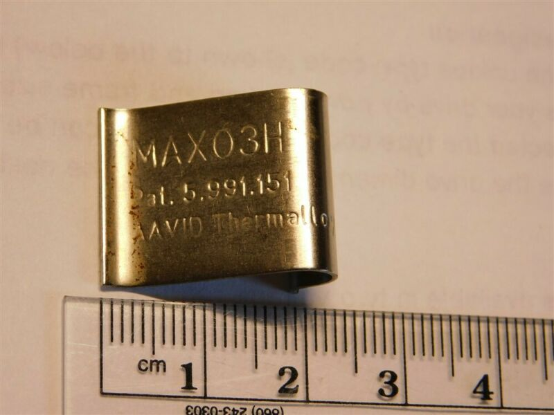 10 Aavid Thermalloy MAX03H High Force 80N Max Clips for TO-247, TO-274, TO-3P