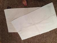 4 small area rugs/bath mats