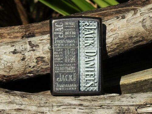 Zippo Lighter - Jack Daniels - Old No. 7 - Tennessee Whiskey - Gray Dusk