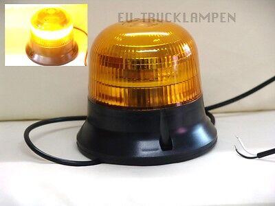 LED RUNDUMLEUCHTE WARNLEUCHTE- UNI FÜR 12-55 VOLT + E-ZULASSUNG - 145mm