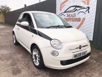 FIAT 500 1.2 SPORT HATCH LEATHER 79K MILEAGE