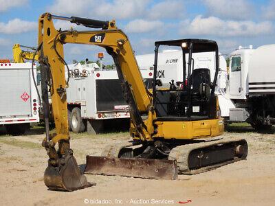 2014 Caterpillar 305.5e2 Cr Mini Excavator Rubber Tracks Backhoe Bidadoo
