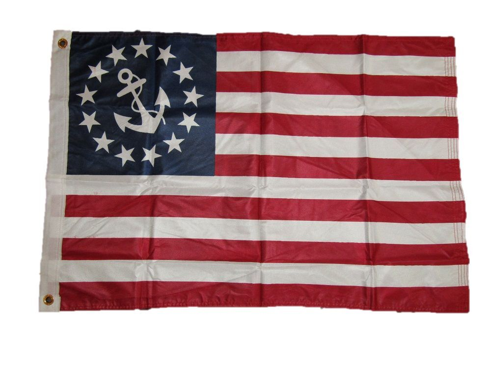 3x5 U.S. Flag Store Nautical Ensign Yacht Boat Super Knit Kn