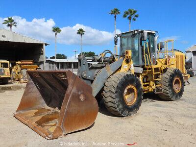 2010 John Deere 744k Wheel Loader Ac Cab Ride Control Tractor Bidadoo -repair
