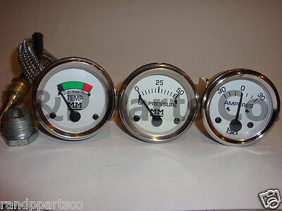 Amp Temp Oil Pressure Gauge Set For Minneapolis Moline G R U Z 335 400 445 500