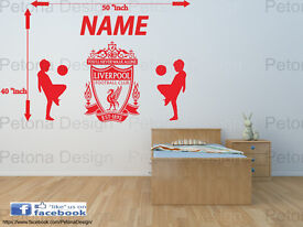 Football room Vinyl wall Art Decal
