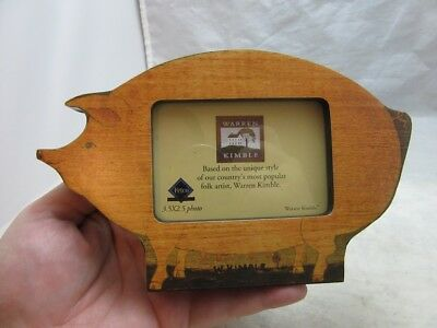 Warren Kimble Picture - Warren Kimble American Pig picture frame
