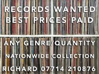Records Wanted!!, get in touch if you have records to sell. Best prices paid.