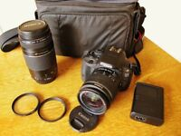 Canon 100D Camera with Twin Lens Package(Reduced)