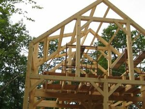 Timber Frame(shell) Structure 24' x36' x12'