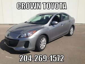 2012 MAZDA MAZDA3 GS MANUAL! CLEAN CARPROOF! ONE OWNER, LOCAL V