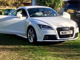 Reduced price Audi TT S-Line, under Audi extended warranty.