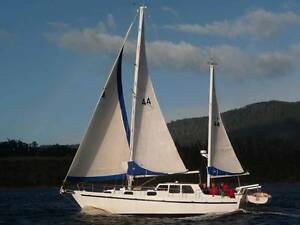 John Pugh Motor Sailer Steel Bilge Keels Sandy Bay Hobart City Preview