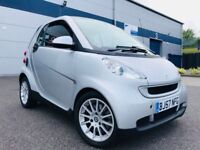 2007 57 REG Smart Car Fortwo 1.0 Passion Coupe 2dr Petrol Automatic (116 g/km, 84 bhp) PAN ROOF